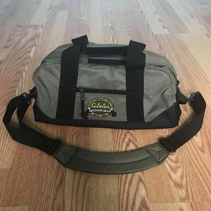 Cabela's Outdoor Gear Duffel Bag Olive Green Black